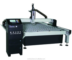 ZHAOZHAN ALUMINUM ALLOY STRUCTURE TABLE STYLE CNC FLAME PLASMA CUTTING MACHINE