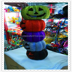 2015 high quality customized cute decorated pumpkins wholesale