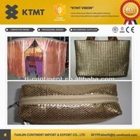 stainless steel metal mesh curtain drapery/decorative metal wire mesh/decorative wall curtain mesh