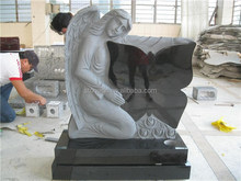 Angel butterfly shaped granite headstones and monuments