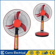 """Hot selling 12volt 16"""" 15w ac dc brushless solar fan solar powered fans for camping"""