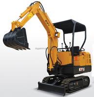 KYM small crawler hydraulic excavator with factory price