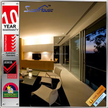 fashion design air infiltration sliding fly screen door for house