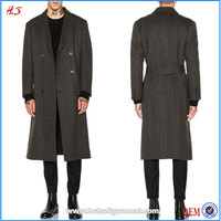 Dongguan City Clothing Manufacturer Wholesale Fashion Winter Clothes Prince Style Coat Long Winter Coat for Men