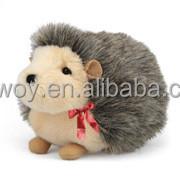 personalized custom logo imprinted embroidery mascot beanbag plush soft stuffed Little Hedgehog cute bandana t-shirt bib tie rib