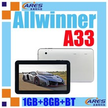 """Best buy made in China android 4.4 10"""" tablet super touch screen quad core A33 tablet pc"""