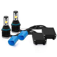 2015 LED Super quality and brightest 9007 led car headlight kit,12V 25W Car led headlight,2800LM 5000K led FUX