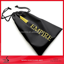 Sinicline Velvet bags Custom Luxury Drawstring Bags with nylon string
