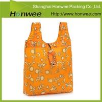 custom recycled pouch nylon bulk reusable boutique shopping bags