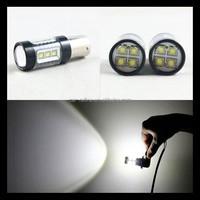 Car lights Super Bright White 80W LED SMD 1156 Ba15s S25 P21W Backup Reverse Light Bulb Replace Halogen Lamp car-styling