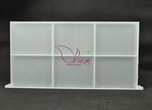 una sola pieza de plástico marco colmena apicultura herramientas fundación de plástico