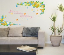 Blossom Flower Removable Wall Sticker Decor Decal Room Background Art