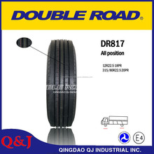 Double Road DR817 steer truck tires(315/80R22.5 )