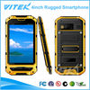 Hot selling 4inch IPS dual core IP67 waterproof mobile phone with gps