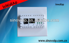 Low price 802.11b/g/n Wireless 150m indoor AP for Hotel inwall AP