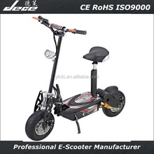 2015 DECE 36V500W brushless wheel hub motor 6-8 charge time electric scooter