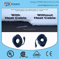 110v snow melting cable manufacturer in China with patent of invention