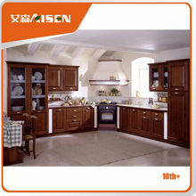 On-time delivery factory directly kitchen cabinet pressed wood