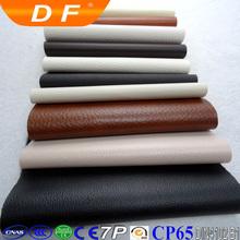 Luxury/classic eco-friendly waterproof anti-mildew durable sofa bulk pattern embossed leather vintage pvc leather stock lot