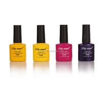 Beautiful nail art products water-base nail polish lacquer gel polish nail from lily angel