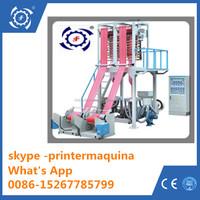 Double die head PE Film Blowing Machine/PE film extruder/Double die head PE film blowing machine extruder