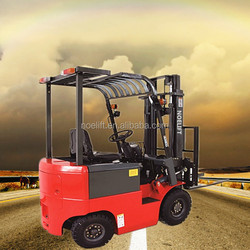 2mast electric forklift 3ton 4wheels electric forklift truck for sale with cheap price