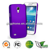 Smooth rubbered case for Samsung galaxy s4 mini i9190 case