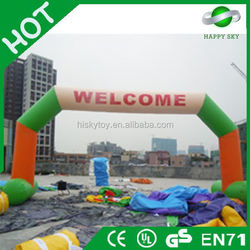 Well Design CE prove inflatable arch,inflatable racing arch,door archway