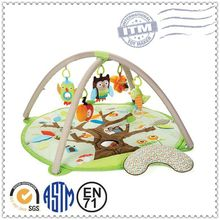 Fashion big bright colors with educational baby game mat