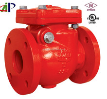 AWWA C508 FM UL APPROVED SWING CHECK VALVE WITH FLANGED END