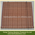 cortina de bambú puerta