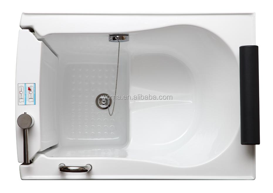 Low Entry Threshold Bathtub With Door Walkin Bath Tub With