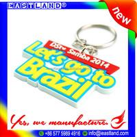 Promotion Souvenir Keychain, Key Chain, Custom Rubber Keyring