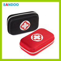 2015 wholesale red first aid kit box with high quality nylon