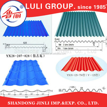 Corrugated Steel Sheet Metal Roofing