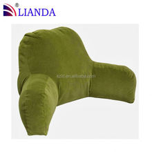 HOTSALE!! led read pillow/ special reading pillow and seat wedge cushion/ wedge reading pillow CE certificate