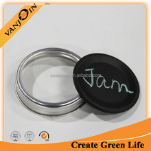 Cheap Price Chalkboard Mason Jar Lids For Writing