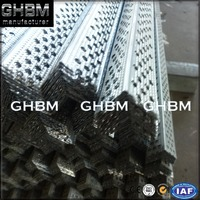 GI steel Perforated Wall Angle corner bead for Ceiling/Drywall System