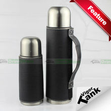 Leather Wrapped Stainless Steel Thermos Flask Thermos Manufacturer