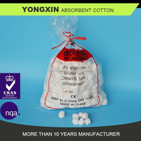 absorbent cotton pad/cotton ball