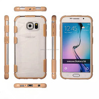 Pc+Tpu material back cover hard case for Samsung S6