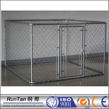 wholesale cheap large Chain Link Dog Kennel Panels (factory)