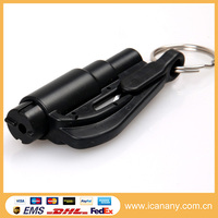 New Products 3 in 1 mini Portable Bus Emergency Hammer Glass Breaker Emergency Disaster Survival Kit