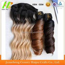 Factory wholesale cheap kanekalon x-pression ultra braid synthetic hair