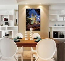 Modern Ilamic Art Paintings of Old Building