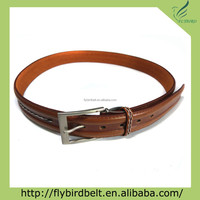 Ali express unisex style brown chastity artificial leather belt
