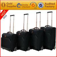 Factory direct sale high quality 1680D nylon fashion trolley luggage bag