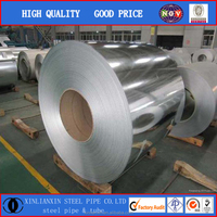 alloy material, z60-200 hot rolled in coil galvanized steel strip material Q195-Q235 high quality