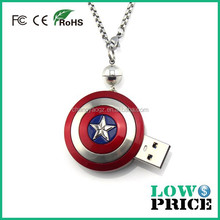 The Avengers The Incredible HULK 3D Fist Pewter Pendant Chain Metal Necklace usb flash drive