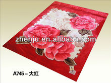 2013 Prompt delivery fashionable design polyester blankets